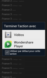 Vodobox Regarder TV Android