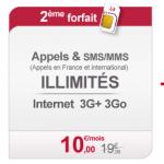 Virgin Mobile forfait sans engagement illimité family and Co
