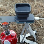 FlameStower, chargeur smartphone de camping