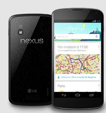 Nexus 4 est en rupture de stock en France